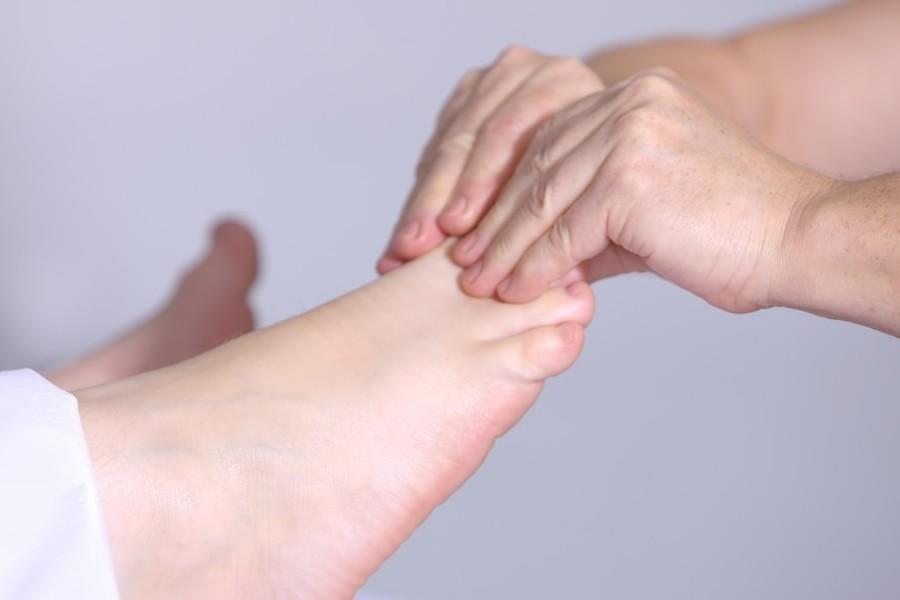 Reflexología de pies