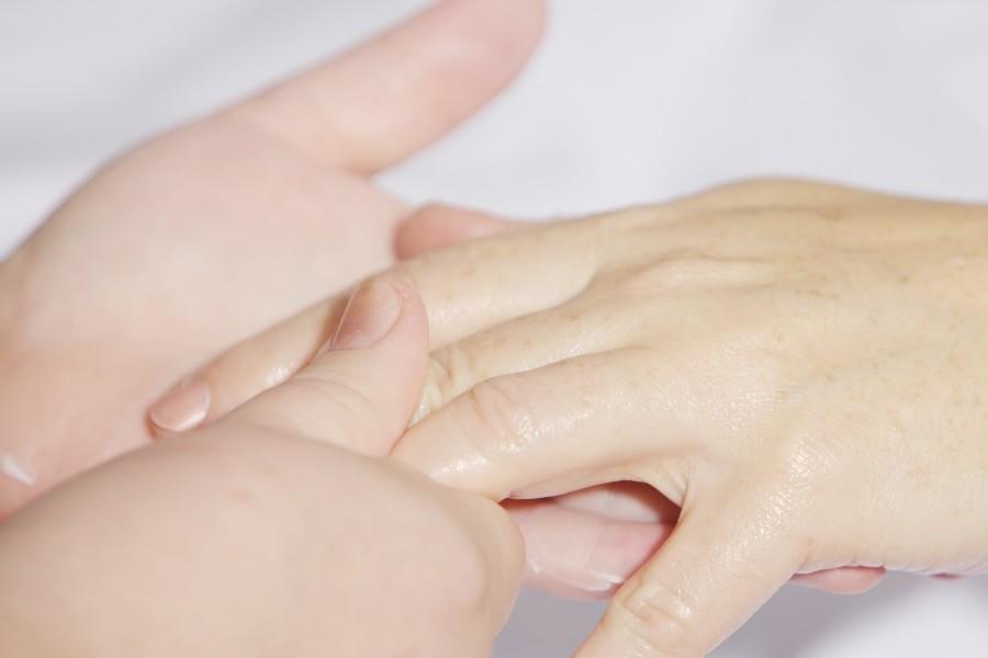 Reflexología de manos