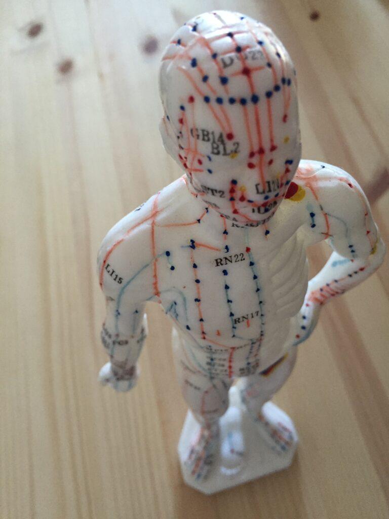 Los principales puntos acupunturales